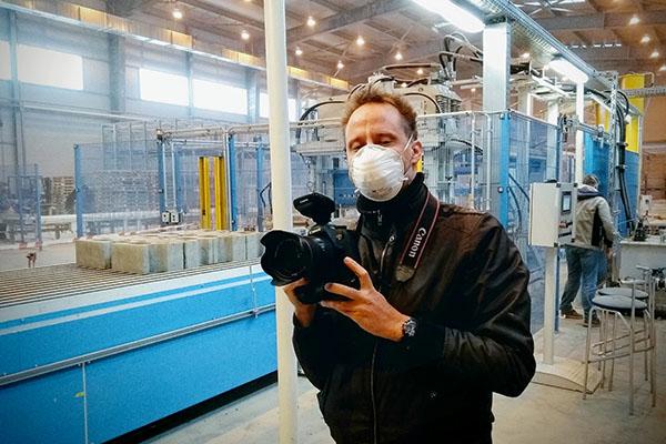 fotografie fabriek Moskou