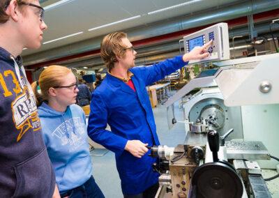 instructies verspanen Universiteit Twente Enschede