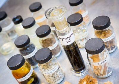 biomassa pyrolyse organische materialen
