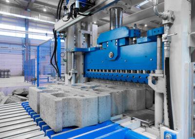 foto van fabriek voor beton in Rusland