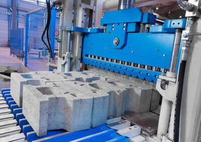 betonverwerkende machine van SR Schindler in Rusland